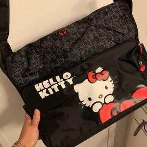Hello Kitty Black Laptop Case